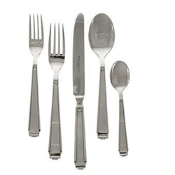 Ricci 5 Pc Place Setting, Art Deco