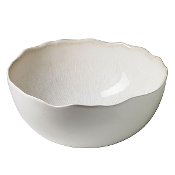 Jars Plume Serving Bowl, White Pearl