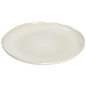 Jars Plume Serving  Plate White Pearl