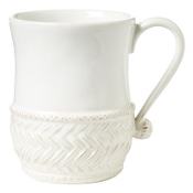 Juliska La Panier Whitewashed Mug