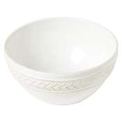 Juliska La Panier Whitewashed Cereal Bowl