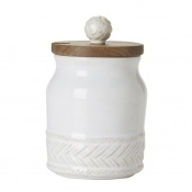 Juliska Le Panier Whitewash Sugar Pot