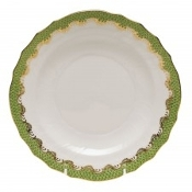 Herend Fish Scale Salad Plate Green