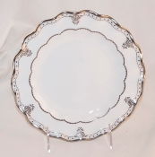 Royal Crown Derby Elizabeth Platinum Bread and Butter