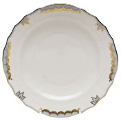Herend Princess Victoria Salad Plate, Light Blue
