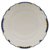 Herend Princess Victoria Dinner Plate, Blue