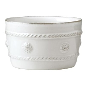 Juliska Berry and Thread Round Ramekin Whitewash