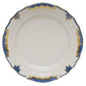 Herend Princess Victoria Bread and Butter Plate, Blue