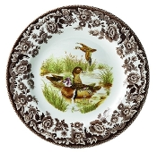 Spode Woodland Salad Plate, Wood Duck