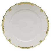 Herend Princess Victoria Dinner Plate, Green