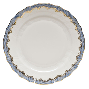 Herend Fish Scale Dinner, Light Blue