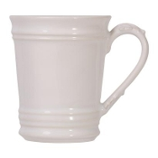 Juliska Acanthus Mug, Whitewash
