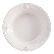Juliska Acanthus Large Serving Bowl, Whitewash