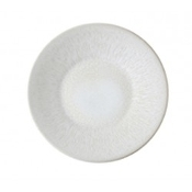 Jars Vuelta  Dinner Plate, White Pearl 11.4