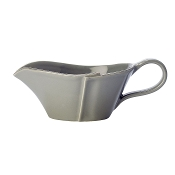 Vietri Lastra Gray Sauce Server