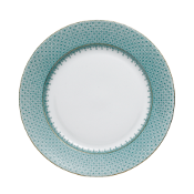 Mottahedeh Green Lace Dessert Plate