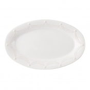 "Juliska Berry and Thread 22.5"" Oval Platter Whitewash"