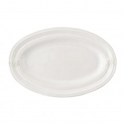 "Juliska Acanthus 16"" Serve Platter, Whitewash"