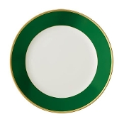 Haviland Empire Green Dessert Plate
