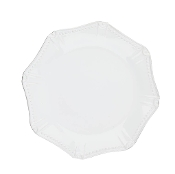 Isabella Octagonal Dinner Pure White