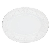 Skyros Isabella Pure White Oval Platter