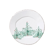 Vietri Lastra Holiday Dinner Plate