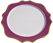 Anna Weatherly Anna's Palette Charger Purple Orchid