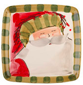 Vietri Old St. Nick Salad Plate